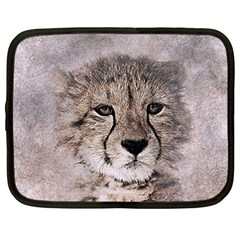 Leopard Art Abstract Vintage Baby Netbook Case (xxl)