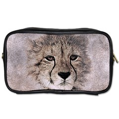 Leopard Art Abstract Vintage Baby Toiletries Bags 2 Side