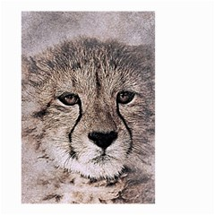 Leopard Art Abstract Vintage Baby Small Garden Flag (two Sides)