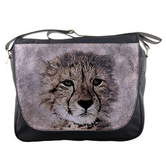 Leopard Art Abstract Vintage Baby Messenger Bags