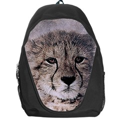 Leopard Art Abstract Vintage Baby Backpack Bag