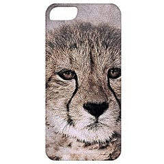 Leopard Art Abstract Vintage Baby Apple Iphone 5 Classic Hardshell Case