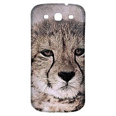 Leopard Art Abstract Vintage Baby Samsung Galaxy S3 S Iii Classic Hardshell Back Case