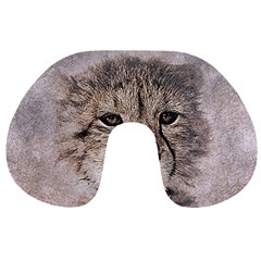 Leopard Art Abstract Vintage Baby Travel Neck Pillows