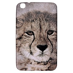 Leopard Art Abstract Vintage Baby Samsung Galaxy Tab 3 (8 ) T3100 Hardshell Case