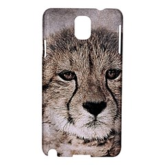 Leopard Art Abstract Vintage Baby Samsung Galaxy Note 3 N9005 Hardshell Case