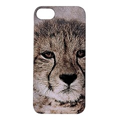 Leopard Art Abstract Vintage Baby Apple Iphone 5s/ Se Hardshell Case