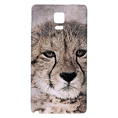 Leopard Art Abstract Vintage Baby Galaxy Note 4 Back Case