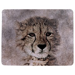Leopard Art Abstract Vintage Baby Jigsaw Puzzle Photo Stand (rectangular)