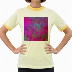 Background Texture Structure Women s Fitted Ringer T Shirts