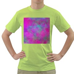 Background Texture Structure Green T Shirt