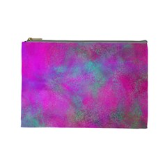 Background Texture Structure Cosmetic Bag (large)