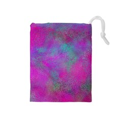 Background Texture Structure Drawstring Pouches (medium)