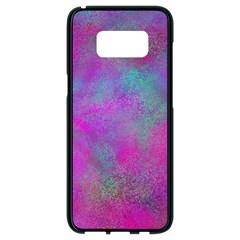 Background Texture Structure Samsung Galaxy S8 Black Seamless Case