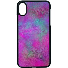 Background Texture Structure Apple Iphone X Seamless Case (black)