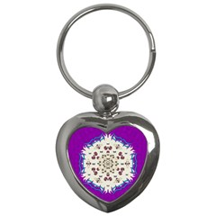 Eyes Looking For The Finest In Life As Calm Love Key Chains (heart)