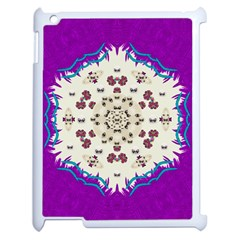 Eyes Looking For The Finest In Life As Calm Love Apple Ipad 2 Case (white)