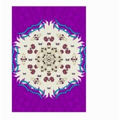 Eyes Looking For The Finest In Life As Calm Love Large Garden Flag (two Sides)