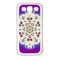Eyes Looking For The Finest In Life As Calm Love Samsung Galaxy S3 Back Case (white)