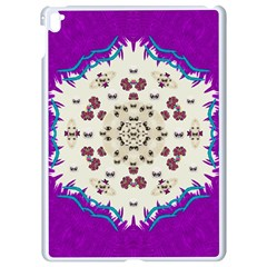 Eyes Looking For The Finest In Life As Calm Love Apple Ipad Pro 9 7   White Seamless Case