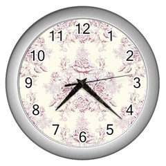 French Chic Wall Clocks (silver)