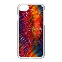 Vibrant Hippy Tye Dye Apple Iphone 8 Seamless Case (white)