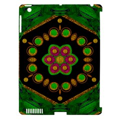 Magic Of Life A Orchid Mandala So Bright Apple Ipad 3/4 Hardshell Case (compatible With Smart Cover)
