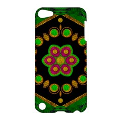 Magic Of Life A Orchid Mandala So Bright Apple Ipod Touch 5 Hardshell Case