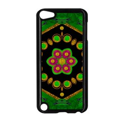 Magic Of Life A Orchid Mandala So Bright Apple Ipod Touch 5 Case (black)