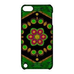 Magic Of Life A Orchid Mandala So Bright Apple Ipod Touch 5 Hardshell Case With Stand