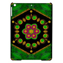 Magic Of Life A Orchid Mandala So Bright Ipad Air Hardshell Cases