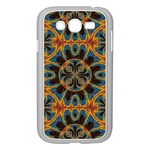 Tapestry Pattern Samsung Galaxy Grand DUOS I9082 Case (White) Front
