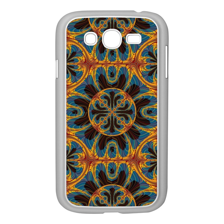 Tapestry Pattern Samsung Galaxy Grand DUOS I9082 Case (White)