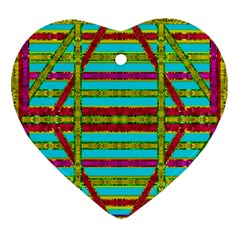 Gift Wrappers For Body And Soul Ornament (heart)