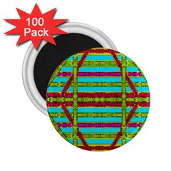 Gift Wrappers For Body And Soul 2 25  Magnets (100 Pack)