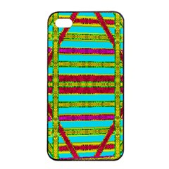 Gift Wrappers For Body And Soul Apple Iphone 4/4s Seamless Case (black)