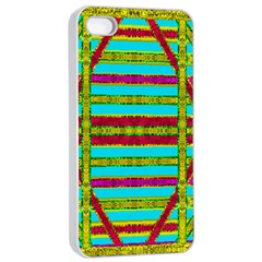 Gift Wrappers For Body And Soul Apple Iphone 4/4s Seamless Case (white)