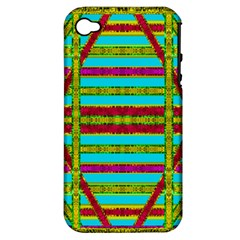 Gift Wrappers For Body And Soul Apple Iphone 4/4s Hardshell Case (pc+silicone)