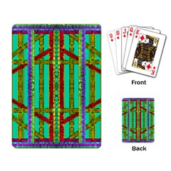 Gift Wrappers For Body And Soul In  A Rainbow Mind Playing Card