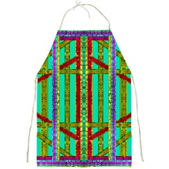 Gift Wrappers For Body And Soul In  A Rainbow Mind Full Print Aprons