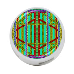 Gift Wrappers For Body And Soul In  A Rainbow Mind 4 Port Usb Hub (one Side)
