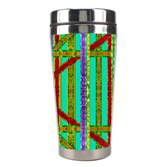 Gift Wrappers For Body And Soul In  A Rainbow Mind Stainless Steel Travel Tumblers