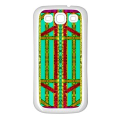 Gift Wrappers For Body And Soul In  A Rainbow Mind Samsung Galaxy S3 Back Case (white)