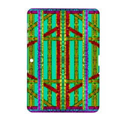 Gift Wrappers For Body And Soul In  A Rainbow Mind Samsung Galaxy Tab 2 (10 1 ) P5100 Hardshell Case