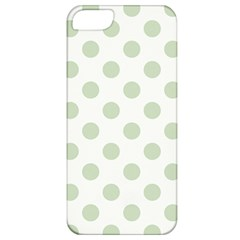 Green Dots Modern Pattern Paper Apple Iphone 5 Classic Hardshell Case