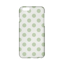 Green Dots Modern Pattern Paper Apple Iphone 6/6s Hardshell Case