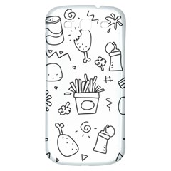 Set Chalk Out Scribble Collection Samsung Galaxy S3 S Iii Classic Hardshell Back Case