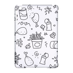 Set Chalk Out Scribble Collection Apple Ipad Mini Hardshell Case (compatible With Smart Cover)