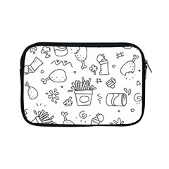 Set Chalk Out Scribble Collection Apple Ipad Mini Zipper Cases