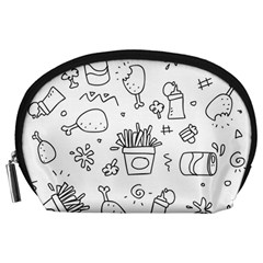Set Chalk Out Scribble Collection Accessory Pouches (large)